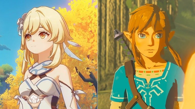 How Genshin Impact's release really compares to Zelda: Breath of the Wild