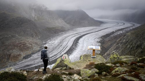Permafrost temperatures in Swiss Alps reach record highs