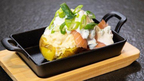 Schnell und lecker - cremige Kartoffeln mit Lachs