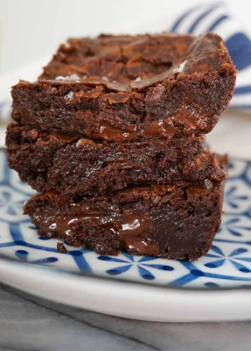 Vegan Brownies - Desserts - Sycamore Baking Blog