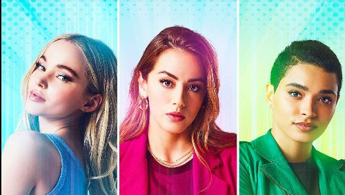 S.H.I.E.L.D.'s Chloe Bennet is still a superhero in first look at The CW's Powerpuff Girls