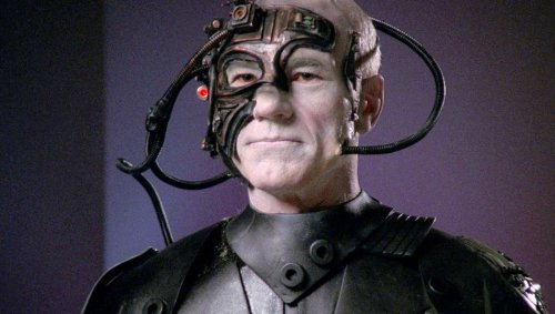 Resistance is futile, because Star Trek's Borg are real and can assimilate DNA from microbes