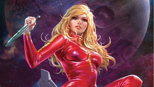 Barbarella returns to save the universe, battle space aliens in first look at Dynamite's new comic series