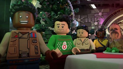 35 thoughts we had while watching the LEGO Star Wars Holiday Special