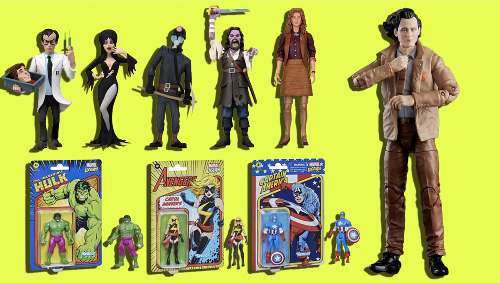 Important Toy News: Marvel-ous action figures, April O'Neil, and plenty more new toys
