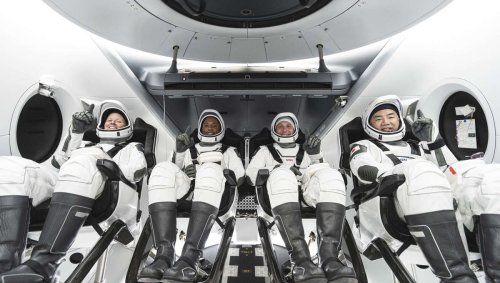SpaceX and NASA successfully launch four astronauts to the ISS in first FAA-licensed mission