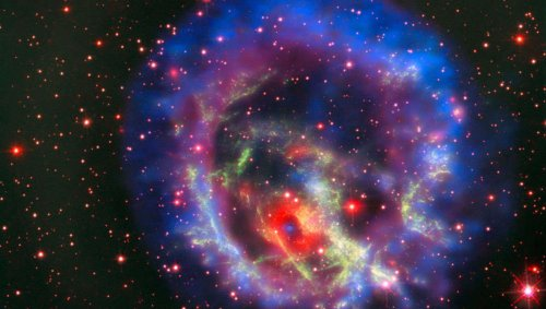 The first lone neutron star ever seen outside the Milky Way