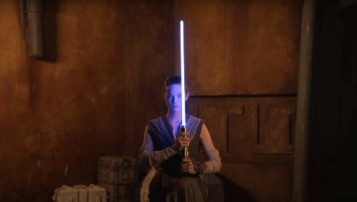 Disney Imagineering finally shows off 'real' lightsaber built for Star Wars park experience