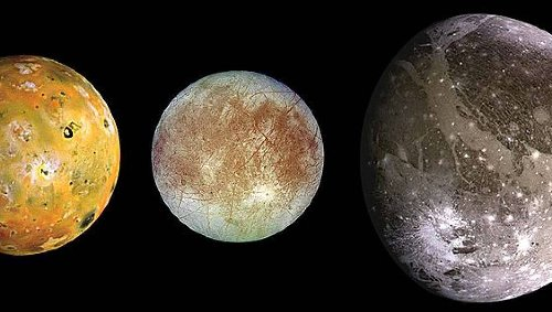 Size up our solar system's many magnificent moons, plopped down right here on Earth