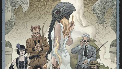 The worlds of 'Sandman' and 'Locke & Key' unite in first look at IDW's 'Hell & Gone' crossover