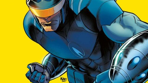 Indie Comic Spotlight: The fate of the world rests in the mind of Blue Flame's blue collar hero