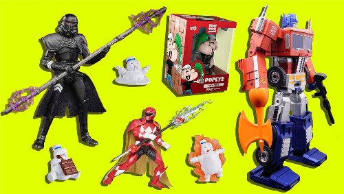 Important Toy News: Stay-Puft goop, a real robot Optimus Prime, and more outrageous new toys