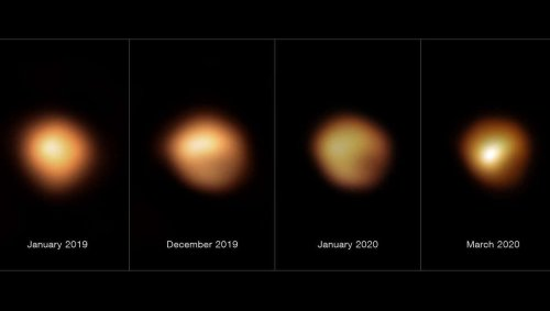 We may finally know why Betelgeuse dimmed so much. Bonus: No supernova. Yet.