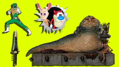 Important Toy News: A jumbo Jabba statue, Power Ranger pins, and much more