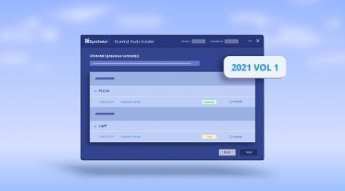 What's New in 2021 Volume 1: Essential Studio Installer