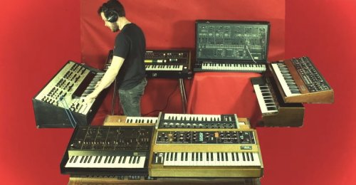 Keyboard, Synth and Organ cover image