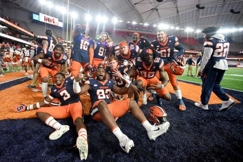 Watch: Syracuse returns Liberty's trolling by singing Jay-Z's Empire State of Mind following win