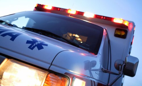 Police chase stolen ambulance across several counties; driver ends up in Irondequoit Bay