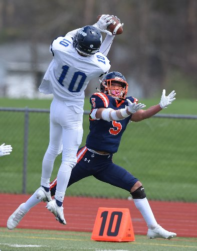 See who the Section III high school football stat leaders were for April 16-17
