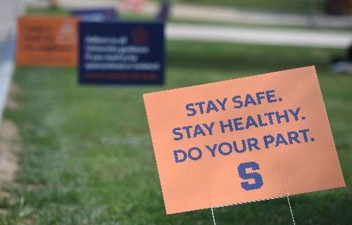 Syracuse University resumes in-person dining as more students get vaccinated