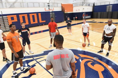 Boeheim's Army holds first practice; Andrew White is the team's designated 3-point shooter