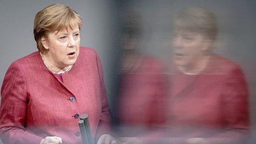 Debatte im Bundestag: Merkel ruft zu Tempo bei Bundes-Notbremse auf