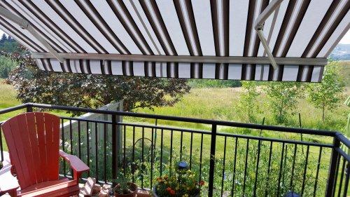 Die besten Markisen für Garten, Terrasse und Balkon