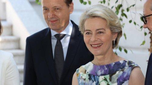 Ursula von der Leyen total entspannt mit Ehemann Heiko