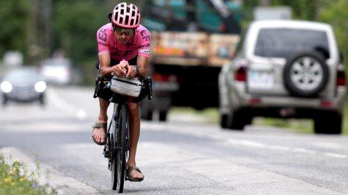 Rad-Hipster in Sandalen: Morton fährt Tour de France auf eigene Faust