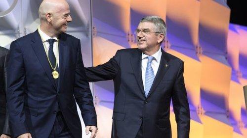 """WM-Pläne der FIFA - IOC:Infantino hat Bach """"zu keiner Zeit"""" kontaktiert"""