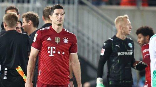 Fußball-Bundesliga - Tor-Serie gerissen: Lewandowski nimmt es nicht locker