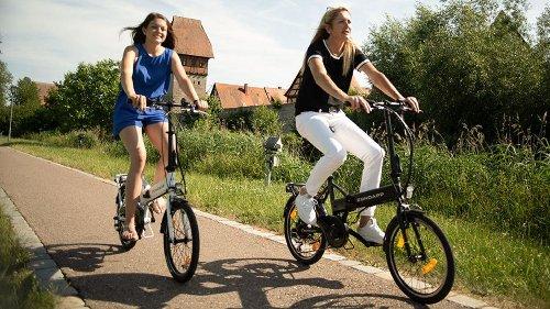 Freizeit-Schnäppchen: faltbares E-Bike heute zum Knallerpreis von 777 Euro