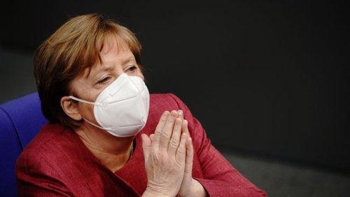 Corona-Pandemie: Bundeskanzlerin Merkel mit Astrazeneca geimpft