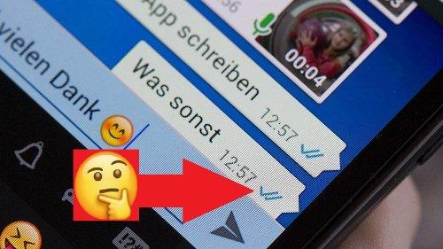 WhatsApp: Das bedeuten Einzelhaken, Doppelhaken, blaue Haken