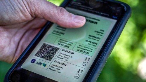 Covid-19 - Israel:Grüner Pass soll steigende Corona-Zahlen bremsen