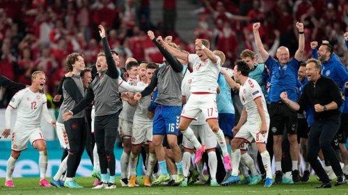 """Fußball-EM - Ein Land steht zusammen: Dänen feiern """"magische"""" EM-Nacht"""
