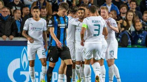 Champions League: Manchester City löst Aufgabe in Brügge souverän