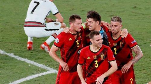 Fußball-EM - Nach Sieg gegen Portugal: Belgien bangt vor Italien-Duell