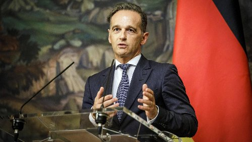 Maas warnt Kretschmer vor russischer Instrumentalisierung