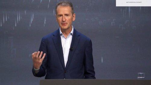 Bundestagswahl | Volkswagen-Chef: Diess fordert höheren CO2-Preis