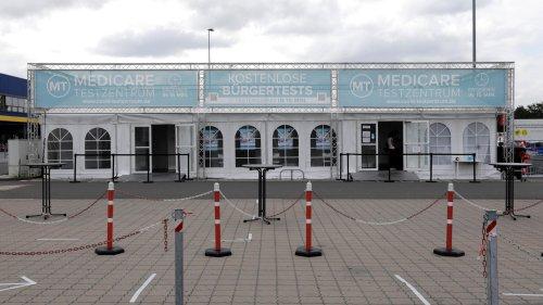 Brandanschlag auf Corona-Testzentrum in Lichtenberg