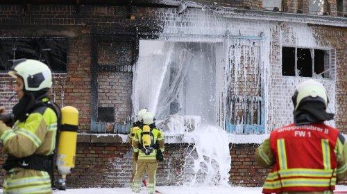 Abfüllanlage von Flüssiggas in Dresden in Brand geraten