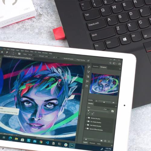 Luna Display macht iPads zum zweiten Bildschirm für Windows-Geräte