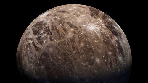 Wasserdampf in der Atmosphäre des Jupitermonds Ganymed entdeckt