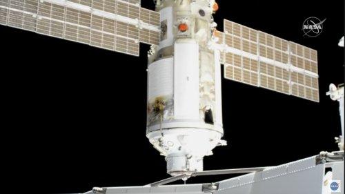 Drama auf der ISS: Russisches Modul dockt an – und dreht plötzlich auf