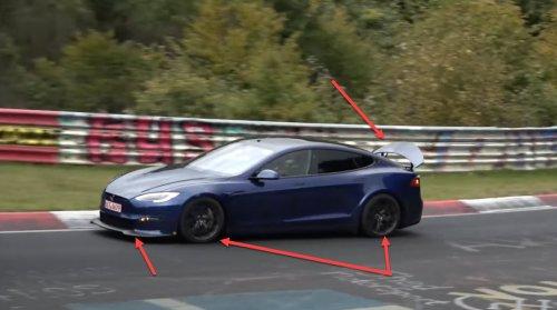Tesla erneut auf Rekordjagd? Tesla Model S Plaid rast über den Nürburgring