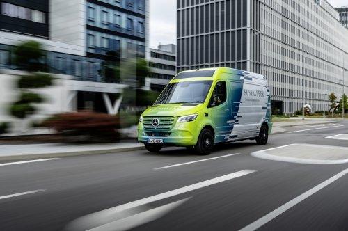 Mercedes Sustaineer: Der Öko-Sprinter, der die Umgebungsluft filtert
