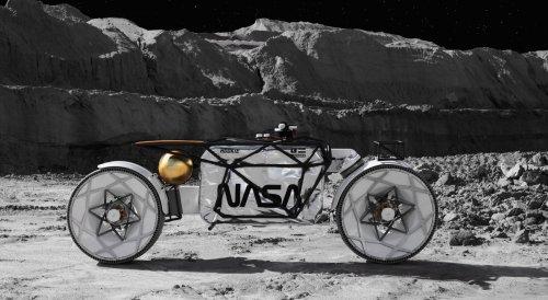 Moon-Buggy-Alternative: Sächsische Firma baut Mond-Motorrad Tardigrade