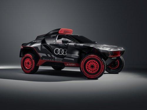 RS Q E-Tron: Audi will mit einem Elektroauto die Rallye Dakar aufmischen