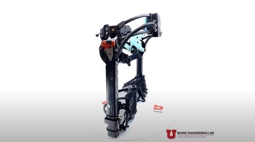 Intelligentes Exoskelett lässt Einbeinige normal gehen